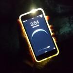 EC Technology,iPhone 6 Plus用の着信時LEDフラッシュ機能付TPU×ハードフレームケースをレビュー!