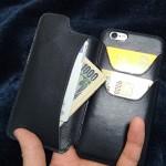 iPhone SE/6s/6sPlus用のオススメなウォレットケースBusiness Leather Factoryをレビュー!