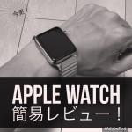 今更Apple Watchを購入!開封簡易レビュー!(42mm:型番MJ442J/A)