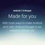 Google,最新OSのAndroid7.0 Nougat(ヌガー)をリリース!マルチウィンドウ、セキュリティなど新機能追加、「LG V20」発表。