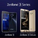 ZenFone 3 (ZE520KL)/3 Deluxe (ZS550KL)が価格改定!最大1万円安く。