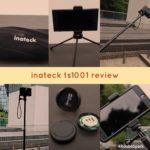 多機能すぎる自撮り棒「Inateck TS1001」をレビュー!【スタンド、三脚、シャッターリモコン付き】