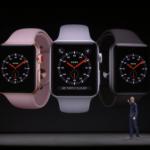 Apple、Apple Watch series 3発表!セルラー機能搭載・$399から22日より発売 #AppleSpecialEvent