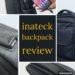 15.6インチPC対応、USB充電ポート付き「inateck バックパック」をレビュー!
